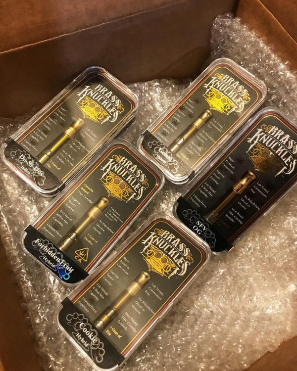 buy brass knuckles vape online Find Authentic Brass Knuckles OG ONLY at a Licensed Dispensary in the State of California or Nevada